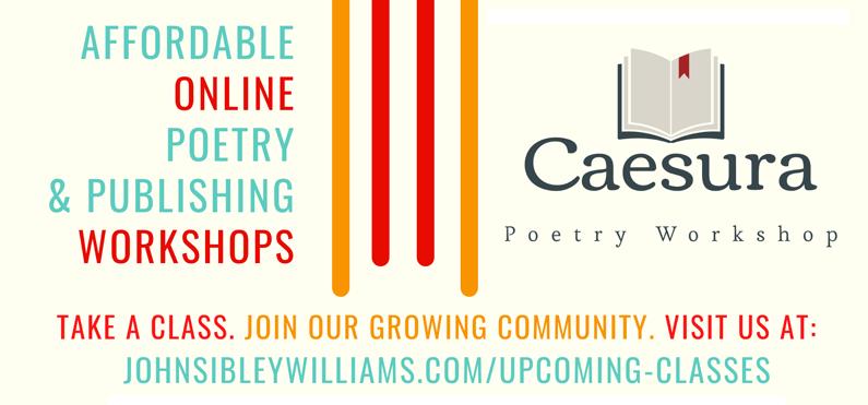 Caesura Poetry Workshop with John Sibley Williams
