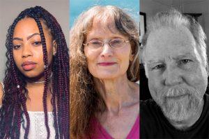 Taylor Byas, Kathleen Holliday and Jonathan Yungkans