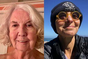 Eileen Hugo and Janice Bressler