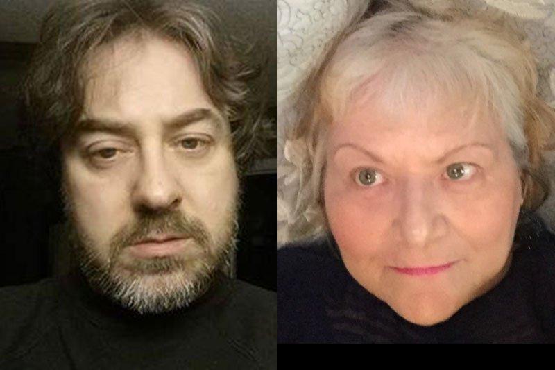 John Tustin and Sarah Sarai