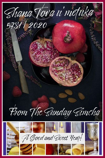 The Sunday Simcha Radio Show